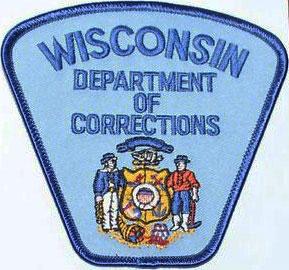Wisconsin Dept. of Corrections badge